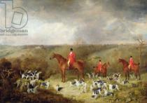 Dean Wolstenholme - Lord Glamis and his Staghounds, 1823