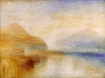 Joseph Mallord William Turner - Inverary Pier, Loch Fyne, Morning, c.1840-50