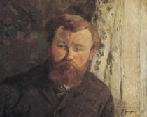 Paul Gauguin - Portrait of Achille Granchi Taylor, 1885