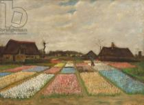 Vincent van Gogh - Flower Beds in Holland, c.1883