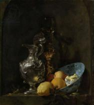 Willem Kalf - Still Life with Silver Ewe, c.1655-60