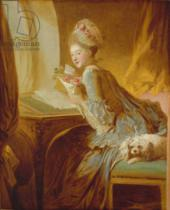 Jean-Honore Fragonard - The Love Letter, c.1770
