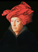 Hubert & Jan van Eyck - A Man in a Turban, 1433