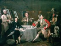 William Hogarth - Captain Graham in his Cabin