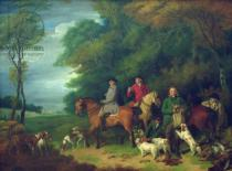 Francis Wheatley - The Return from Shooting, 18th century