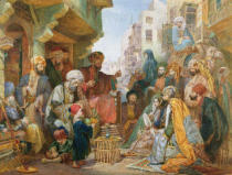 John Frederick Lewis - A Street in Cairo