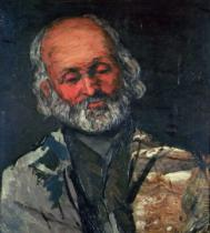 Paul Cézanne - Head of an Old Man, c.1866