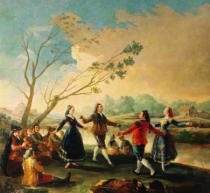 Francisco José de Goya y Lucientes - Dance on the Banks of the River Manzanares, 1777