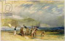 Joseph Mallord William Turner - Folkestone Harbour and Coast to Devon, c.1830