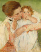 Mary Stevenson Cassatt - Mother and Child, 1897
