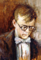 Russian School - Portrait of the Composer Dmitri Shostakovich (1906-75), 1950s