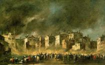 Francesco Guardi - The Fire at San Marcuola