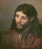 Harmensz van Rijn Rembrandt - Head of Christ, c.1648