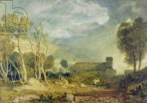 Joseph Mallord William Turner - Patterdale Old Church, c.1810-15