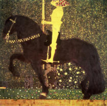 Gustav Klimt - The Golden Knight, 1903