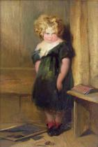 Sir Edwin Henry Landseer - A Naughty Child