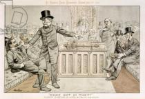 Tom Merry - 'Come Out of That', Mr Gladstone Returns from the Country, and Finds his Seat Occupied, from 'St. Stephen's Review Presentation