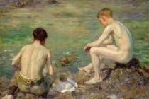 Henry Scott Tuke - Three Companions