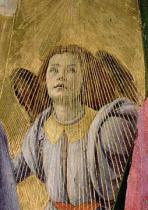 Sandro Botticelli - Detail of Angel, from the 'Coronation of the Virgin', c.1488-90