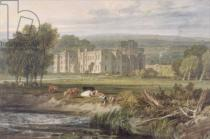 Joseph Mallord William Turner - View of Hampton Court, Herefordshire, from the south-east, c.1806