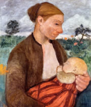 Paula Modersohn-Becker - Mother and Child, 1903