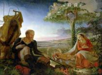 Philipp Otto Runge - Rest on the Flight into Egypt, 1805-6
