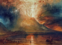 Joseph Mallord William Turner - Mount Vesuvius in Eruption, 1817