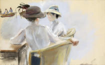 Max Liebermann - Two Ladies by the Water