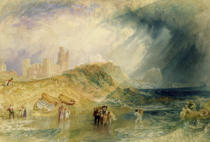 Joseph Mallord William Turner - Holy Island, Northumberland, c.1820