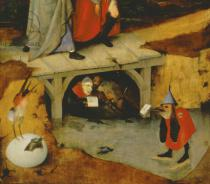 Hieronymus Bosch - Detail of Detail from the central panel of Temptation of St. Anthony