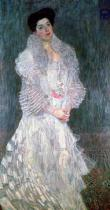 Gustav Klimt - Portrait of Hermine Gallia (1870-1936) 1904