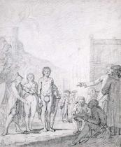 French School - A Slave Market