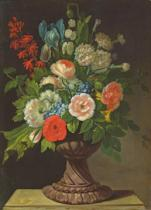 Jens Juel - Still Life with Flowers