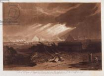 Joseph Mallord William Turner - The Fifth Plaque of Egypt, engraved by Charles Turner (1773-1857) 1808