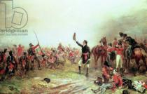 Robert Alexander Hillingford - The Battle of Waterloo, 18th June 1815
