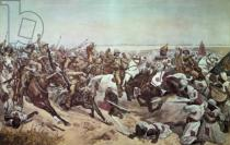 Richard Caton Woodville - Charge of the 21st Lancers at Omdurman, 2nd September 1898