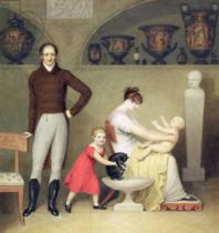 Adam Buck - The Artist and his Family, 1813