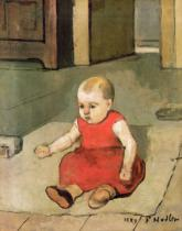 Ferdinand Hodler - Little Hector on the floor, 1889