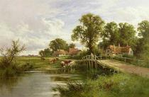 Henry Perlee Parker - On the Thames near Marlow