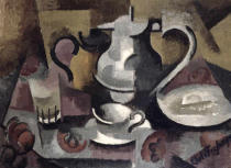 Roger de La Fresnaye - Still Life with Three Handles