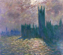 Claude Monet - Parliament, Reflections on the Thames