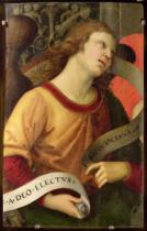 Raphael - Angel, from the polyptych of St. Nicolas of Tolentino, 1501