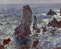 Claude Monet - The Rocks at Belle-Ile, 1886