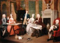 William Hogarth - Portrait of a Family, 1730s