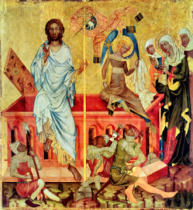 Master of the Cycle of Vyssi Brod - Resurrection of Christ, c.1350