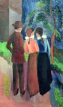 August Macke - The Walk, 1914
