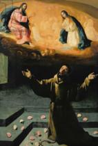 Francisco de Zurbaran - St. Francis of Assisi, or The Miracle of the Roses, 1630
