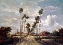 Meindert Hobbema - The Avenue at Middelharnis, 1689