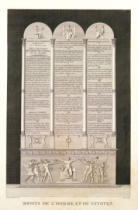 Alexandre-Evariste Fragonard - French Declaration of the Rights of Man and the Citizen, engraved by Jacques Louis Copia