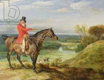 James Ward - John Levett hunting in the Park at Wychnor, Staffordshire, 1814-18